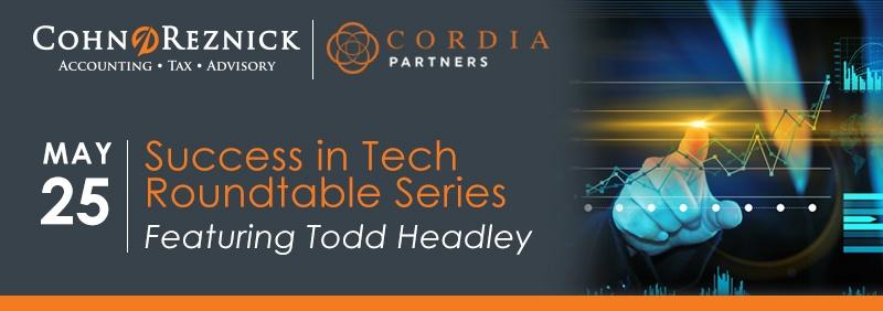 Cohn Reznick Success in Tech Logo